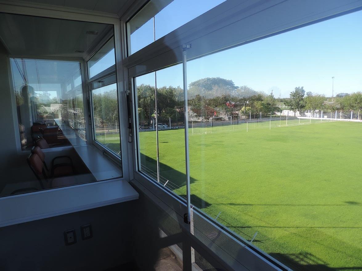 Cabinas de transmisión futbol